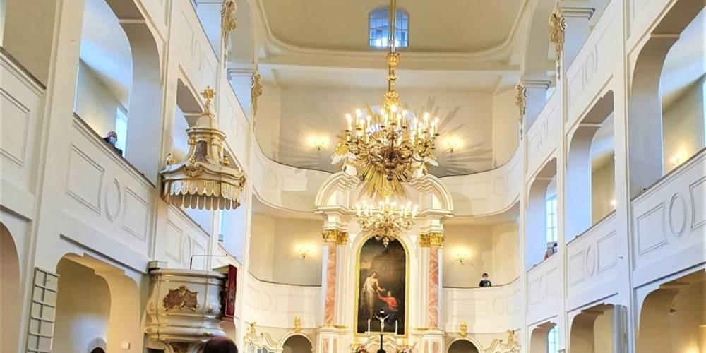 Festgottesdienst zur Einweihung der Marienkirche nach erfolgter Sanierung