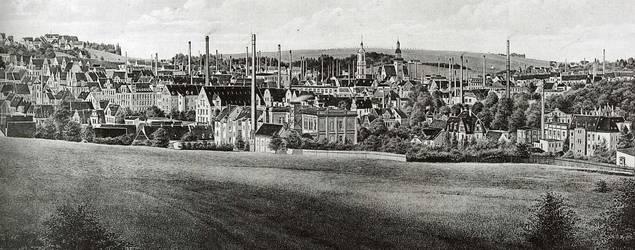 Werdau als Industriestadt (1914 - 1989)